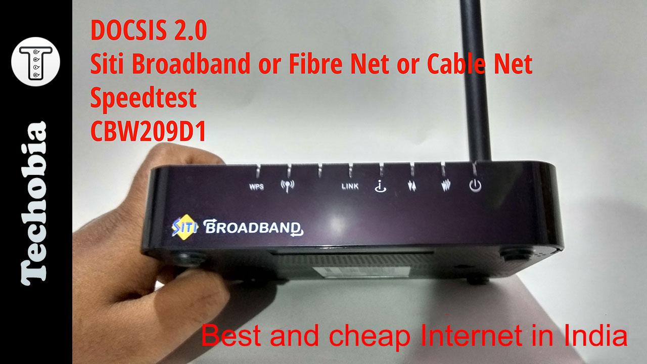 siti cable broadband