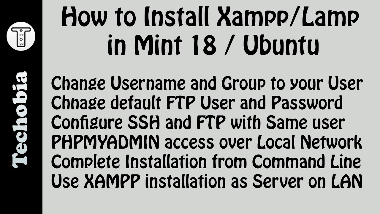 XAMPP in Mint 18