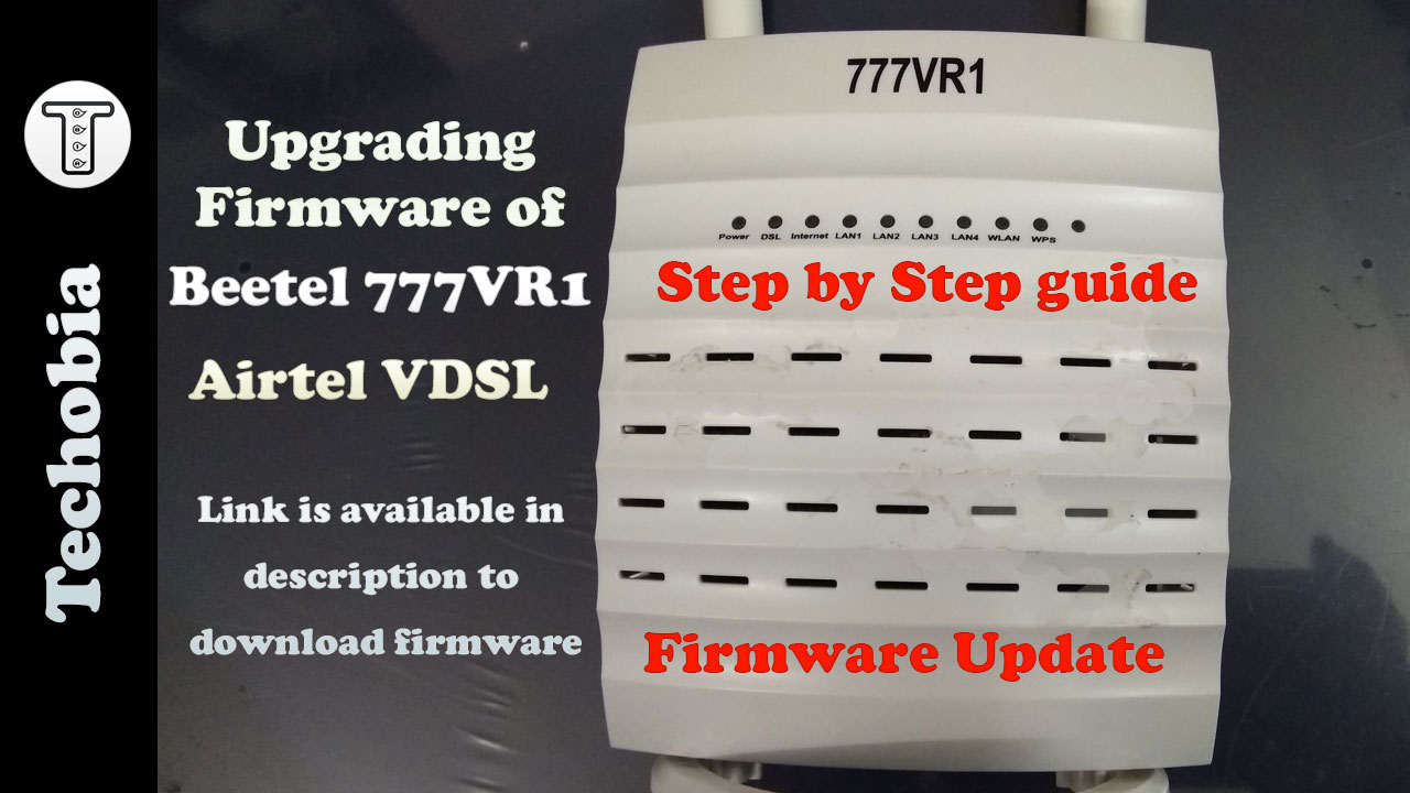 Beetel 777Vr1 Firmware