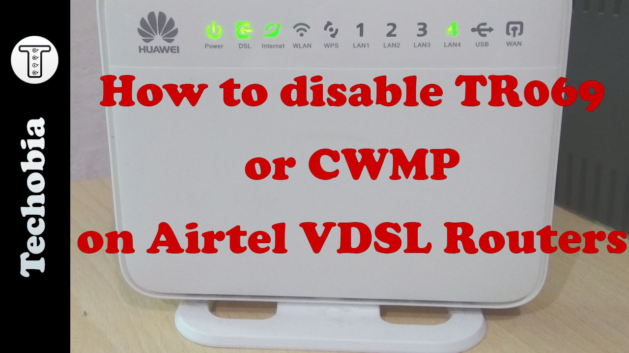 Disable TR069 Huawei HG630a
