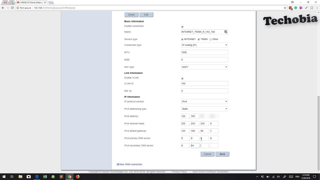 Dlink DSL 224 | Airtel VDSL Modem | Configuration | Static IP | Port